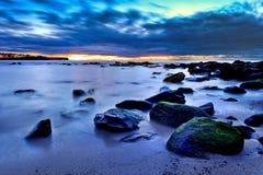 Sea Maroubra Blue sunrise Royalty Free Stock Image