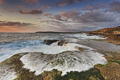 Sea Maroubra Foam alga flat Royalty Free Stock Photography