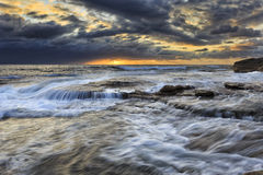 Sea Maroubra 3 layers Royalty Free Stock Image