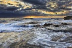 Sea Maroubra 3 layers Royalty Free Stock Image