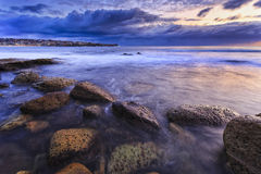Sea Maroubra Round Boulders Royalty Free Stock Photography