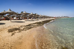 Sea in Marsa Alam Stock Image