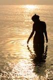 Sea mermaid Stock Images
