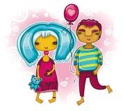 Sea mi tarjeta del día de San Valentín 2 Fotos de archivo