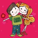 Sea mi tarjeta del día de San Valentín Fotografía de archivo libre de regalías