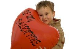 Sea mi tarjeta del día de San Valentín 3 Imágenes de archivo libres de regalías