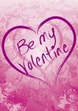 Sea mi tarjeta del día de San Valentín Fotos de archivo