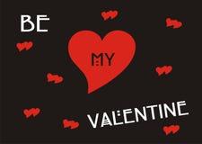 Sea mi tarjeta del día de San Valentín libre illustration