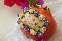 ¡Sea mi tarjeta del día de San Valentín! Foto de archivo