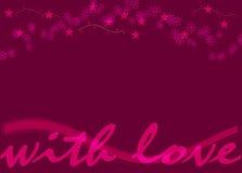 Sea mi tarjeta del día de San Valentín 80 Imagen de archivo libre de regalías