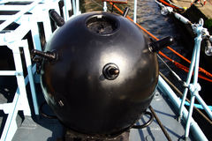 Sea mine Stock Images