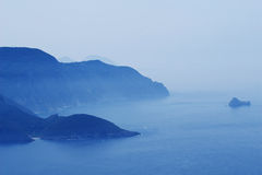 Sea mist Royalty Free Stock Image
