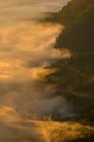 Sea of mist Stock Image