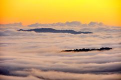 Sea mist. Cloud Royalty Free Stock Photography