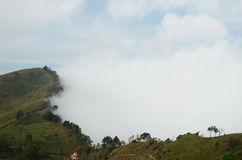 Sea of mist at Doi Pha Tang, Chiang Rai Stock Image