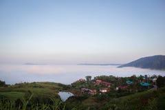 Sea mist Stock Photography