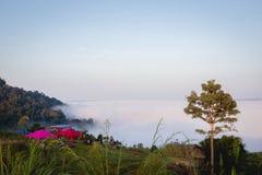 Sea mist Stock Images