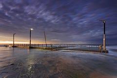 Sea Mona Vale pool side cutoff Stock Photo
