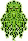 Sea Monster Cthulhu. High quality vector royalty free illustration