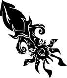 Sea Monster - vector illustration. Vinyl-ready. Royalty Free Stock Photo
