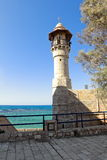 Sea mosque in the ancient Jaffa Royalty Free Stock Photography