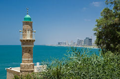 Sea mosque Royalty Free Stock Photos