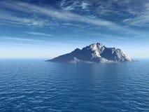 Sea_Mount Royalty Free Stock Photo