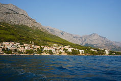 Sea and mountain Royalty Free Stock Images