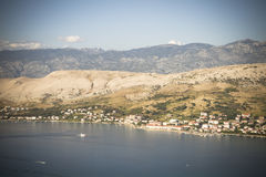 Sea and mountain resort Stock Images