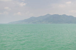 Sea and mountain Stock Images