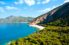 Sea and mountain views Turkey. Royalty Free Stock Images