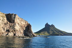 Sea and Mountains. Pic of San Carlos Sonora, Mexico Stock Photo