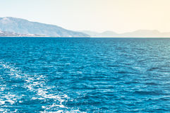 Sea and mountains Stock Photo