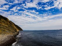 Free Sea, Mountains, Sky With Clouds. Colorful Landscape With Love From Me. Royalty Free Stock Photos - 159103778