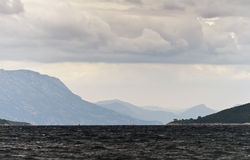 Sea and mountains. Royalty Free Stock Images