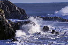 Sea moved Royalty Free Stock Image