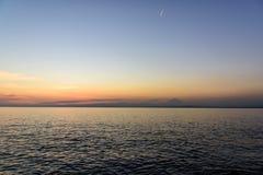 Sea and Mt. Fuji. Royalty Free Stock Image