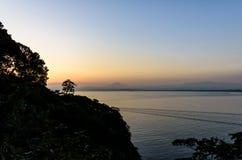 Sea and Mt.Fuji. Royalty Free Stock Images