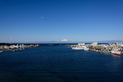 Sea and Mt.Fuji. Stock Photography