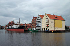 Sea Museum in Gdansk, Poland. Royalty Free Stock Images