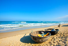The sea. My Khe -one of the six most attractive beaches on the planet Stock Images