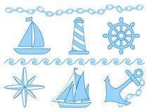 Sea and navi theme Royalty Free Stock Photo
