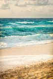Sea a nd beach of Tropea Stock Images