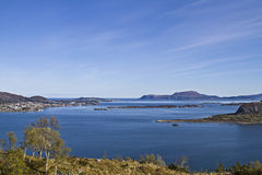 Sea near Alesund Royalty Free Stock Photo