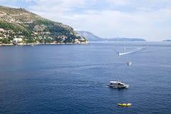 Sea near Dubrovnik Royalty Free Stock Photos