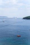 Sea near Dubrovnik Royalty Free Stock Image