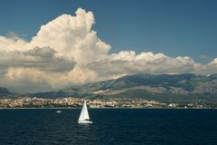 The sea near Split Royalty Free Stock Photo