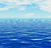 Sea or ocean Royalty Free Stock Images