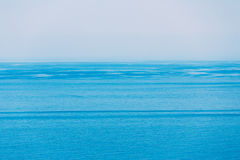 Sea Ocean And Blue Clear Sky Background Stock Images