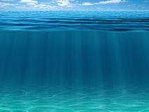 Sea and ocean background Stock Images